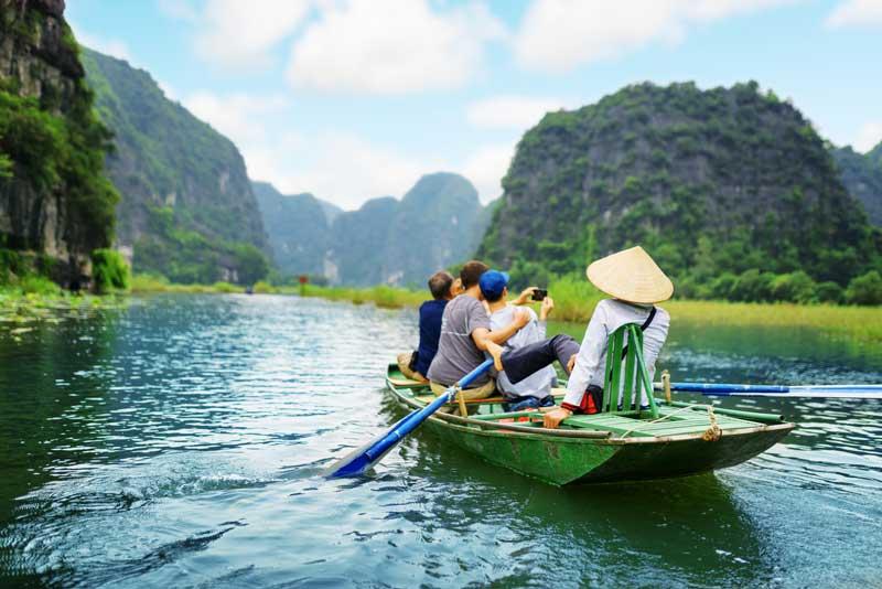 trockene Halong bucht, Rundreise Vietnam
